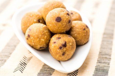 chickpea peanut butter ball