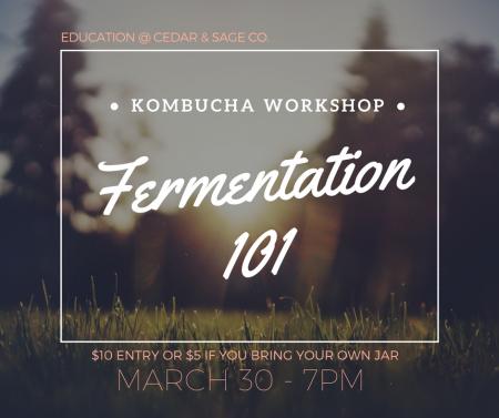 Fermentation Banff Kombucha